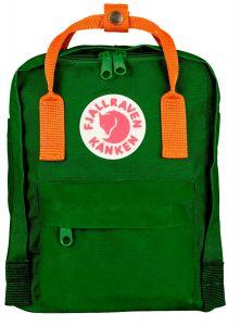 Fjällräven Kånken Backpack-Mini Leaf Green Burnt Orange