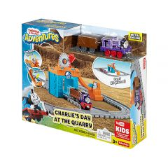 Mattel Games - Fisher-Price® Thomas & Friends™ Thomas Adventures Charlie's Day at the Quarry Playset FBC59