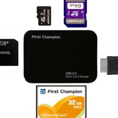 First Champion USB3.0 Multiple Card Reader - FC-CR630 FC-CR630