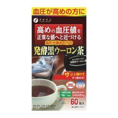 Fine Japan Fermented Black Oolong Tea for High Blood Pressure 90g (1.5g × 60 sachets) FJ-289