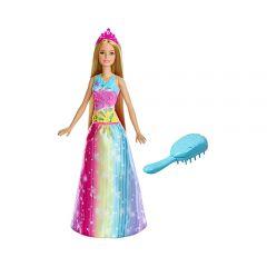 美泰遊戲 - 芭比娃娃™Dreamtopia Brush'n Sparkle Princess