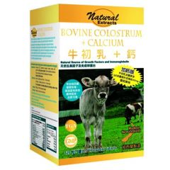 Natural Extract - Bovine Colostrum + Calcium 120's FS00164