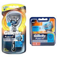 Gillette Venus - Fusion Proshield Chill Razor 2up + Blades 4's G00091