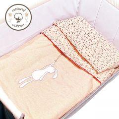 0/3 Baby - Floral Tea Party Mini Bedding Set G08-G03003-TP-01
