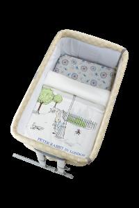 Peter Rabbit - 【漫遊倫敦系列】100%精梳棉細碼床上用品3件套裝   G08-PR003-FE