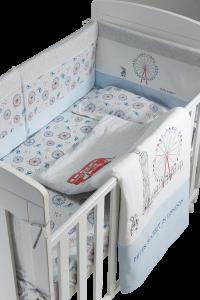 Peter Rabbit - 【漫遊倫敦系列】100% 精梳棉床上用品10件套裝 G08-PR010-FE