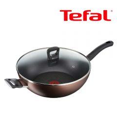 Tefal - 32厘米易潔炒鍋連玻璃蓋 (電磁爐適用) G10394 G10394