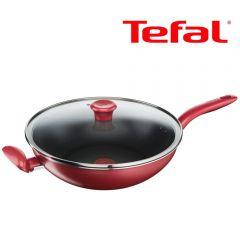 Tefal - 32厘米易潔炒鍋連玻璃蓋 (電磁爐適用) G13598 G13598