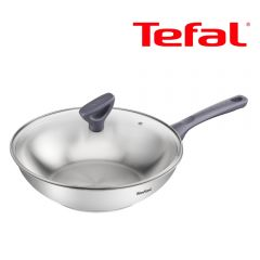 Tefal - 28厘米不銹鋼炒鍋 (電磁爐適用) G71216 G71216
