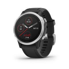 Garmin - Fenix 6S 頂級多功能運動 GPS智能手錶 (繁中/簡中/英文) (銀色錶圈配黑色矽膠錶帶) GM_FENIX6SC_SVBK
