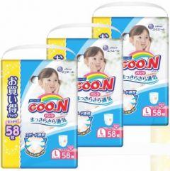 日本直送GOON (原箱) 日本增量版女褲L58x3包