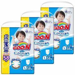 日本直送GOON (原箱)日本增量版男褲L58 x 3包