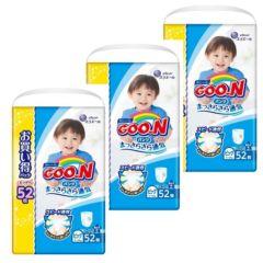 日本直送GOON (原箱) 日本增量版男褲XL52 x3包
