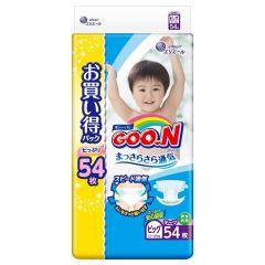 日本直送GOON(原箱) 日本增量版 XL紙尿片 (54片) 加大碼 x3包
