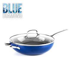 Blue Diamond™ - 32cm中式炒鍋(配玻璃蓋) CC002743