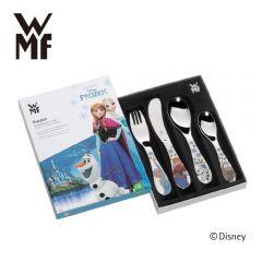 WMF - 迪士尼魔雪奇緣不銹鋼兒童餐具4件裝 H01826