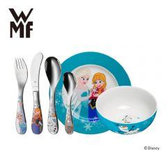 WMF - 迪士尼魔雪奇緣不銹鋼兒童餐具6件裝 H01827