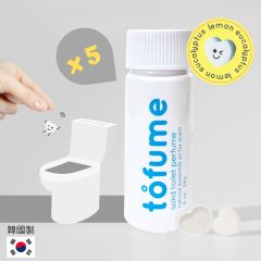 Tofume - [韓國製造]馬桶泡泡清潔錠 (30錠裝) x 5支 H019565860_5