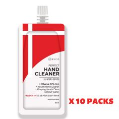 H02797_10 Esco - [Made in Korea] Perfect Hand Cleaner 30ml x 10pcs