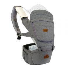 I-Angel - Light 4 Seasons Hip Seat Carrier - Charcoal
