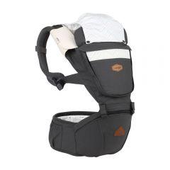 I-Angel - Nature 4 Seasons Hip Seat Carrier (Charcoal)
