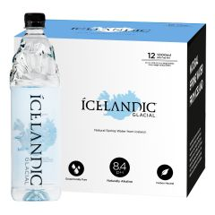 Icelandic Glacial - 1000ml PET Still IG1000PS_12