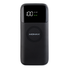 MOMAX Q.POWER AIR2 WIRELESS EXTERNAL BATTERY PACK 10000MAH W LED DISPLAY(IP90W)