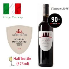 Castiglion del Bosco - Rosso di Montalcino DOC 2015 (JS 90) (375ml) ITCB03-15H