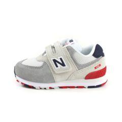 New Balance Lifestyle Infant Boys Q119 574 童裝鞋 - 灰色