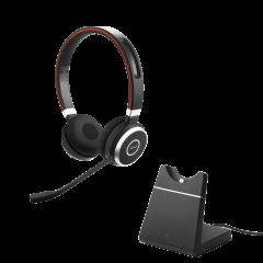 Jabra Evolve 65 MS 雙耳無線耳機 連USB充電座