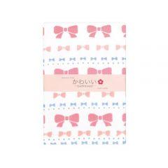 Cotton Essence - Ribbon Gauze-pile Bath Towel - White JK-12705