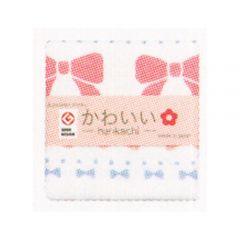 Cotton Essence - 蝴蝶結單面紗綿方巾