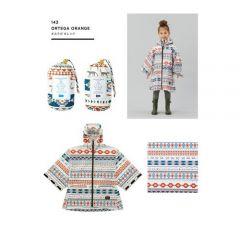 W.P.C. 日本KIU兒童雨衣大碼 (Ortega Orange) 130cm-150cm K71L-143-ORTEGAORANGE