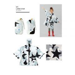 W.P.C. Japan KIU Sleeve Rain Poncho For Kids (Large Star) K71-110poncho_main