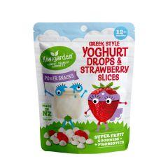 Kiwigarden Greek Style Yoghurt Drops & Strawberry Slices KG0519X