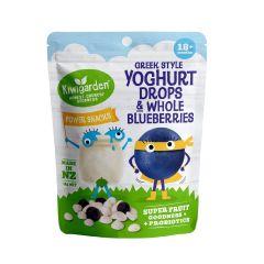 Kiwigarden Greek Style Yoghurt drops & Whole Blueberries KG0526X