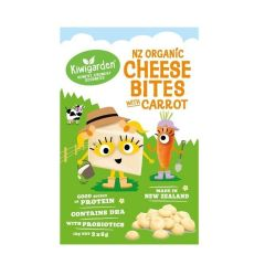 Kiwigarden NZ Organic Cheese Bites with Carrot KG0656X