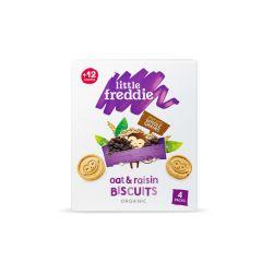 Little Freddie - 有機葡萄乾燕麥餅乾 (4 x 20g) LF3801X