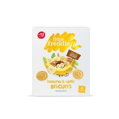 Little Freddie - 有機香蕉斯卑爾脫小麥餅乾 (4 x 20g) LF3993X
