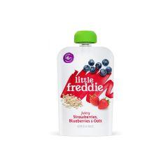 Little Freddie - 有機藍莓士多啤梨穀物蓉 LF9865X