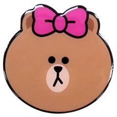 Line Friends - 熊美鏡附 PU 皮套
