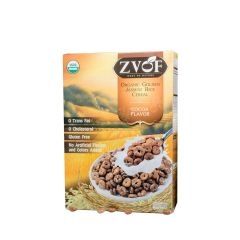 ZVOF - 最美味大獎-有機香糙米烘焙脆脆穀物早餐零食(可可味) LIFE_GJ245C