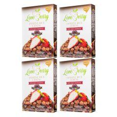 ZVOF - 最美味大獎-有機香糙米+草莓•烘焙脆脆穀物早餐零食(L-可可味 ) LIFE_LB120CX4