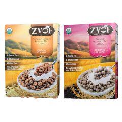 ZVOF - 最美味大獎-有機香糙米烘焙脆脆穀物(可可味)及有機紫莓米烘焙脆脆穀物(原味) LIFE_RCBD