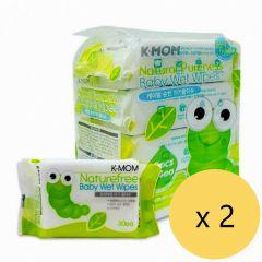 {Made in Korea} Mother-K - K-MOM Wet Tissue-basic-30pcs*8 packs M00043_2