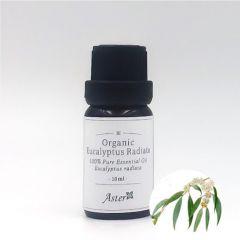 Aster Aroma 有機窄葉薄荷尤加利香薰精油 (Eucalyptus radiata) - 10ml