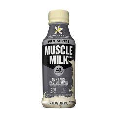 Muscle Milk Pro40 蛋白牛奶14Oz - 香草 MMPROPRTDIVAN14OZ