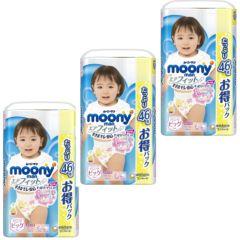 日本直送Moony ( 原箱 )新版 XL46 加大碼 女褲 (增量版) x 3包