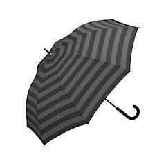 W.P.C. 日本防風防反防UV半自動長雨傘 (橫間) MSA-043-BORDER