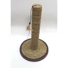 Billipets - Round Base Natural Seagrass Scratch Post NS-12221